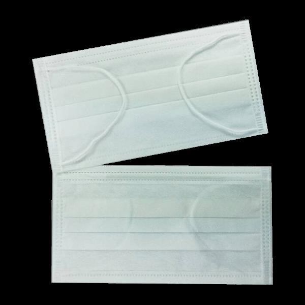 หน้ากากอนามัย 3 ชั้น สีขาว