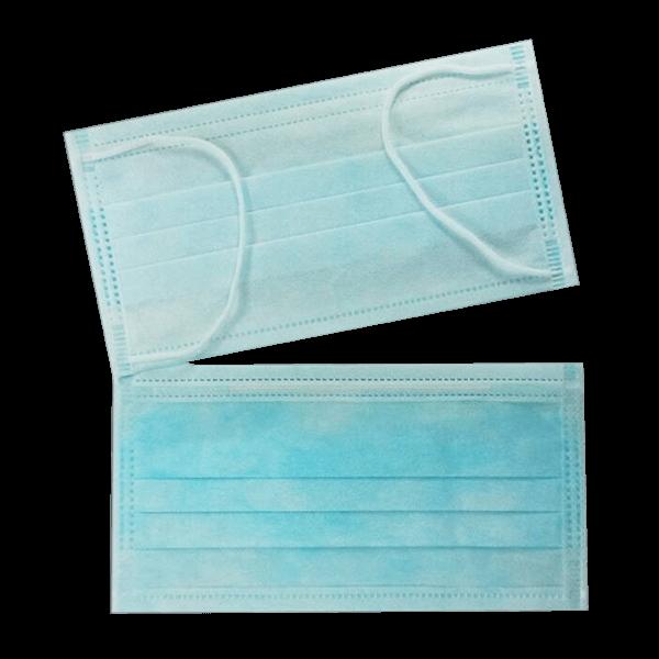 หน้ากากอนามัย 3 ชั้น สีฟ้า
