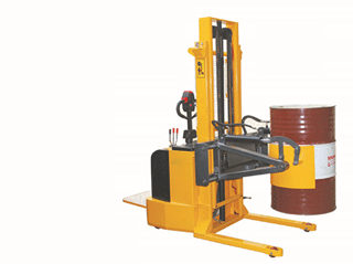 Oil drumper stacker