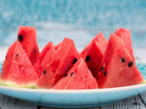 ผลไม้(แตงโม)