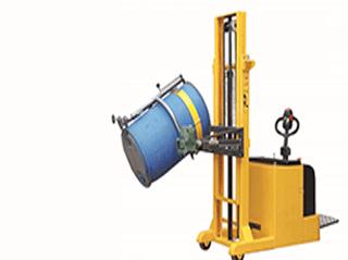 Oil drumper stacker