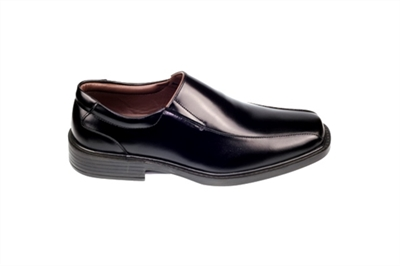 Men leather shoes (Black) VICTORY