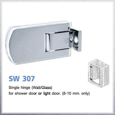 บานพับประตูกระจกห้องน้ำ SW307