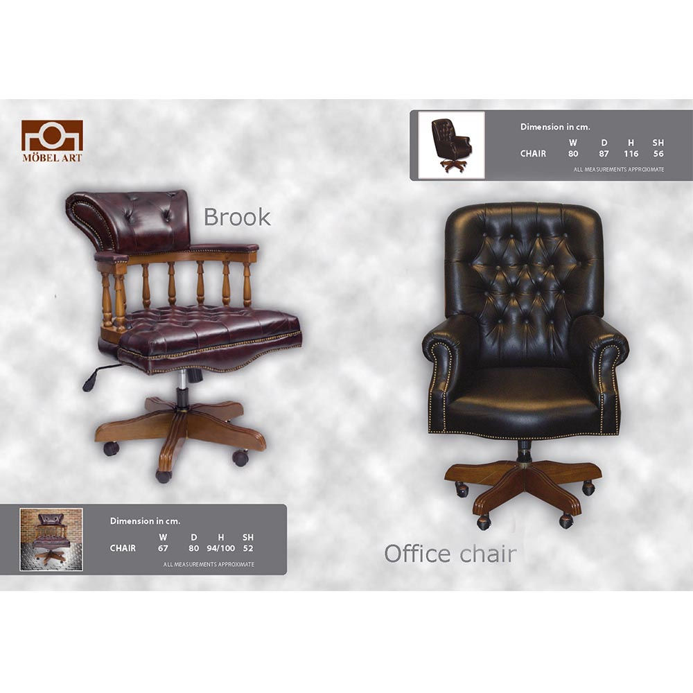 เก้าอี้หนังแท้ OFFICE