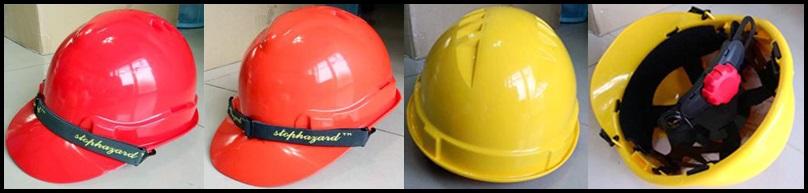 <b>หมวกนิรภัย ยี่ห้อ Stophazard</b> รุ่น SHH-001
