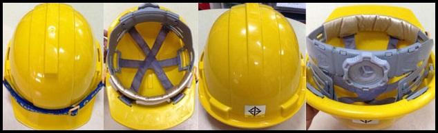 หมวกนิรภัย ยี่ห้อ YAMADA รุ่น HMN-002