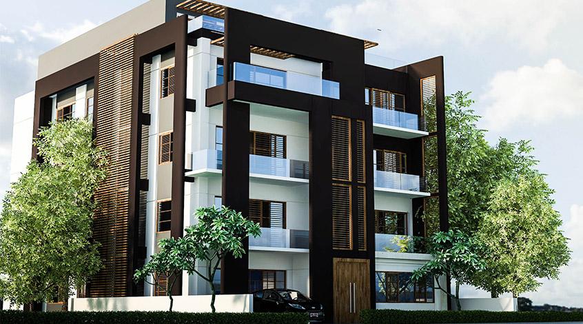 รับออกแบบอพาร์ทเม้นท์