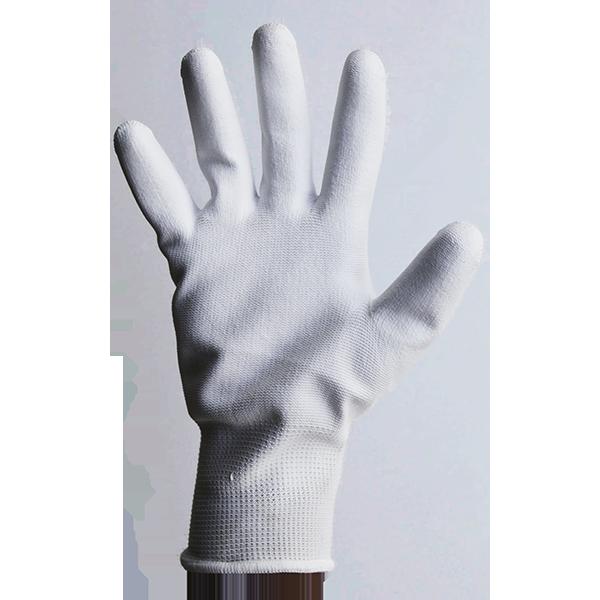 ถุงมือเคลือบ PU เต็มฝ่ามือ