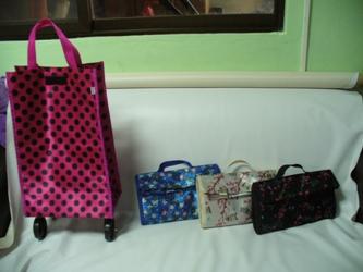 Folding Wheel Bags