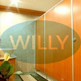 ผนังกั้นห้องน้ำสำเร็จรูป ยี่ห้อ WILLY