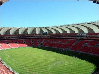 ก่อสร้างสนามกีฬา