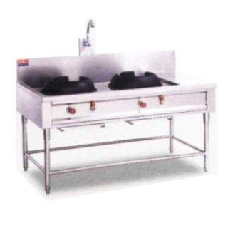 Chinese stove 2 heads