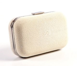 Box White Clutch