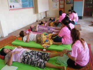 Thai massage school