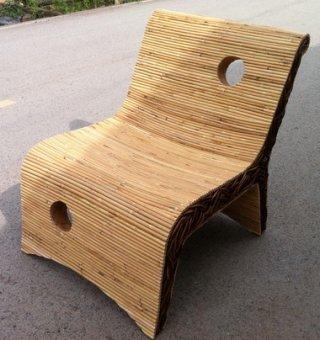 เก้าอี้หวายแท้ KT002