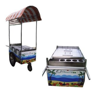 Box Showcase on Wheels