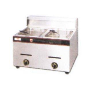 FRYER-GAS (5.5 + 5.5 Liters)