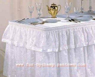 ผ้าคลูมโต๊ะสเกิ๊ต 2 ชั้น