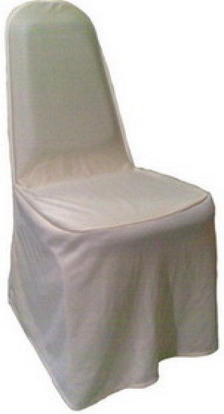 ผ้าคลุมเก้าอี้จัดเลี้ยง ผ้ามองค์ตากู มีกุ้นขอบพนักพิง