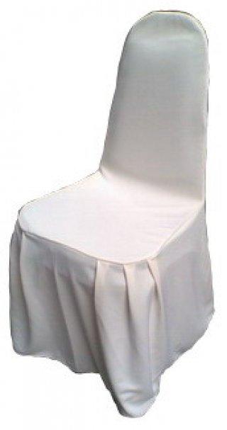 ผ้าคลุมเก้าอี้จับจีบ 2 มุม