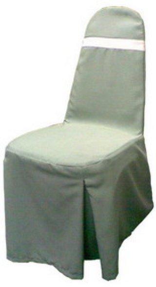 ผ้าคลุมเก้าอี้จัดเลี้ยง ทวิชมุม 2 มุม สลับสี