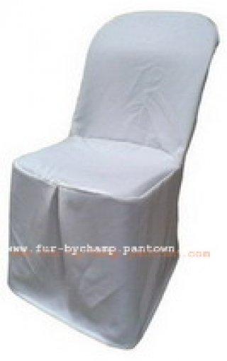 ผ้าคลุมเก้าอี้พลาสติก ทวิชตรงกลาง ผ้ามองค์