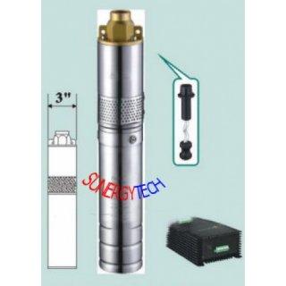 ปั๊มสูบน้ำพลังงานแสงอาทิตย์ 2500 ลิตร/ชั่วโมง 500 วัตต์