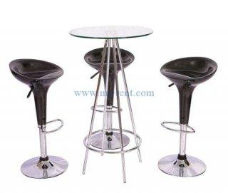 ชุดโต๊ะบาร์สูง เก้าอี้ถ้วยไอศครีม