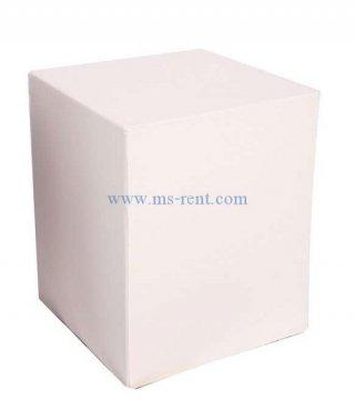โต๊ะกลางกล่องสีขาว