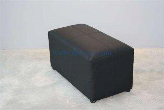 เก้าอี้สตูลม้านั่งสีดำ 2 ที่นั่ง