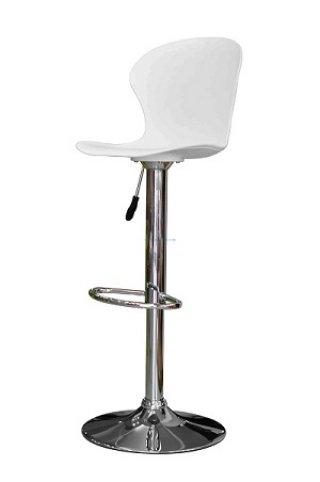 เก้าอี้สตูลบาร์ pp สีขาว
