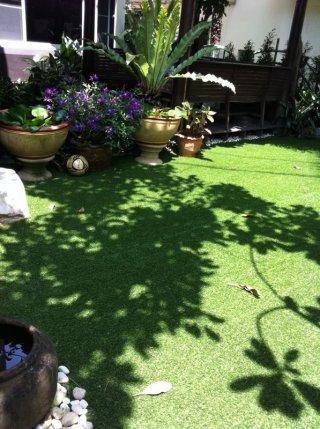 หญ้าเทียมแต่งสวน