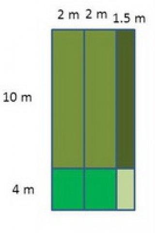 ตัวอย่างการคำนวณการใช้หญ้าเทียม