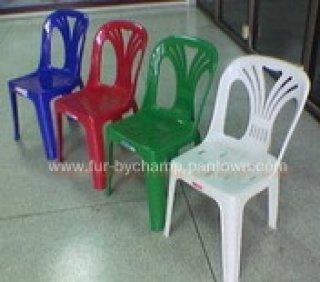 เก้าอี้พลาสติก มีพนักพิง รุ่น 1.7 กก.