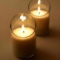 Natural Pillar Candles