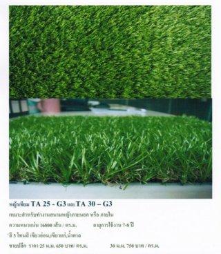 หญ้าเทียม ทีเอ 25-จี3 ทีเอ 30-จี3