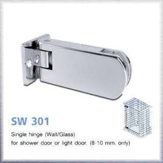 บานพับประตูกระจกห้องน้ำ SW301