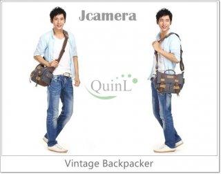 กระเป๋ากล้อง Vintage Backpacker BBK 2