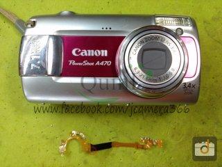 ซ่อมกล้อง Canon A470
