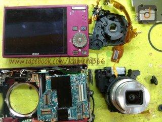 ซ่อมกล้อง Nikon S610