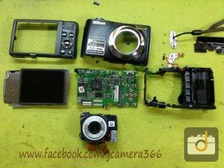 ซ่อมกล้อง Nikon L22