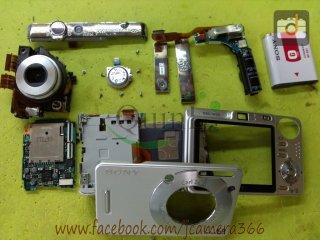 ซ่อมกล้อง Sony W50