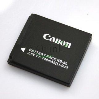 แบตเตอร์รี่ Canon NB 8L