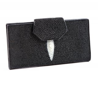 Stingray Black Purse