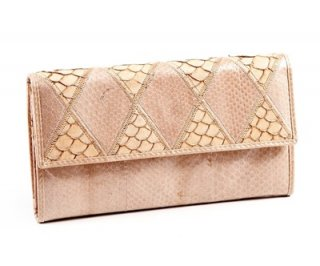 Snake brownish Purse