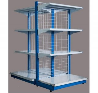ชั้นวางสินค้า 2 หน้า Rhino Shelves