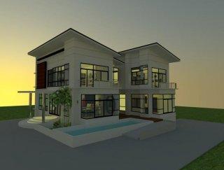 รับออกแบบบ้านโครงการ