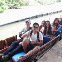 Taxi to Floating Market