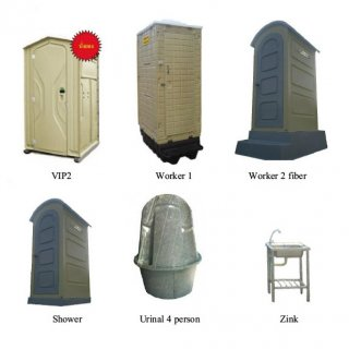 Portable Toilets Worker Mini