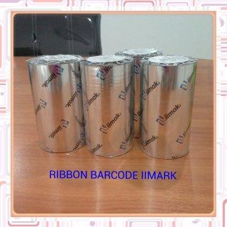 Ribbon Barcode IIMark, Barcode Sticker